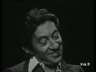 """Serge Gainsbourg """"La noyée"""""""