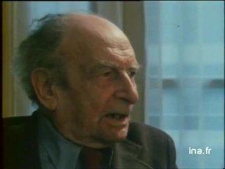 Philippe Soupault parle de Paul Claudel