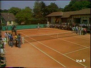 Mourousi à Roland Garros : Page spéciale tennis, 1ère partie