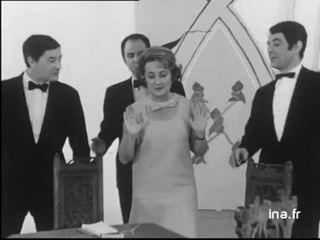 """Jacqueline Maillan """" La partie de bridge"""""""