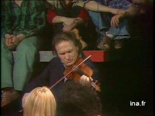 Ivry Gitlis dans une gavotte de Bach