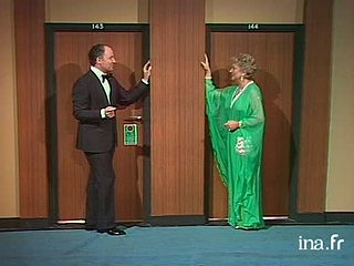 """Jacqueline Maillan et Michel Roux """"A l'hôtel de Las Vegas"""""""