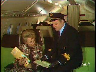 """Jacqueline Maillan Michel Roux Roger Carel """"le Train d'atterrissage"""""""