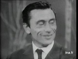 "Robert Lamoureux et Dany Robin ""Un rossignol chantait"""