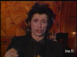 "Johnny Thunders ""I was born to cry"""