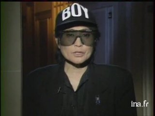 Auto interview : Yoko Ono