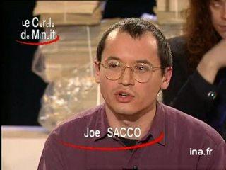 """Joe Sacco à propos de """"Palestine une nation occupée"""""""