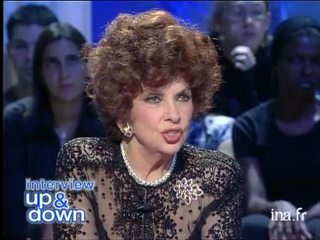 Interview Up and down Gina Lollobrigida