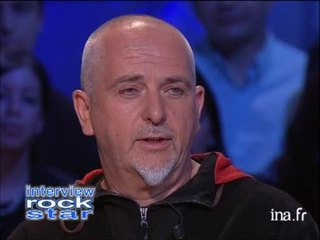 Interview Rock Star Peter Gabriel