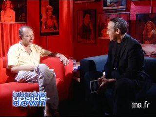Interview upside down Michel Houellebecq