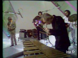 Concert en studio du quartet de Gary Burton