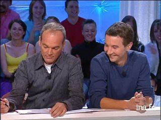 """Pause Bisou"" Olivier Besancenot et Frédéric François"