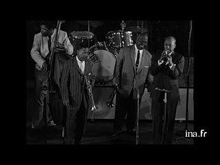 """""""Just you, just me"""" en trumpet contest avec Dizzy Gillespie, Roy Eldridge, Bill Coleman et Teddy Buckner"""
