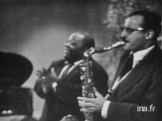 Jimmy Rushing avec l'orchestre de Guy Lafitte