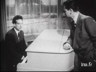 """André Hodeir auteur des thèmes de jazz pour le film de Jacques Yves Cousteau """"Autour d'un récif"""""""