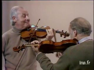 "Stéphane Grappelli et Yehudi Menuhin ""Pick Yourself Up"""