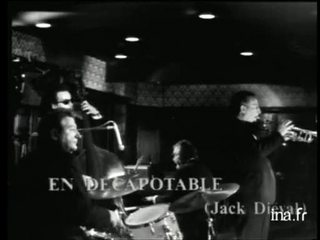 "Paris Jazz Quartet de Jack Diéval ""En décapotable"""