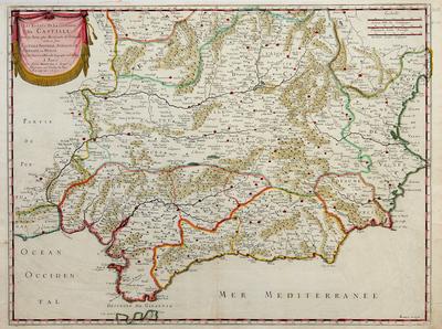 Les estats de la couronne de Castille, dans les parties plus meridionales de l´Espagne...