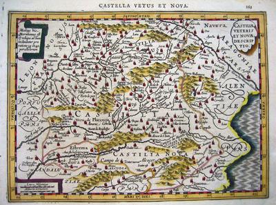 Castiliae veteris et novae descriptio