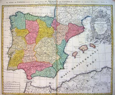 Regnorum Hispaniae et Portugalliae...