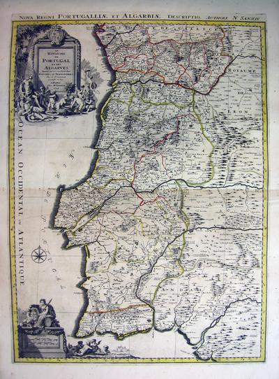 Le Royaume de Portugal et des Algarbes Divisé en ses Archevêchés, Evêchés, et Territoires