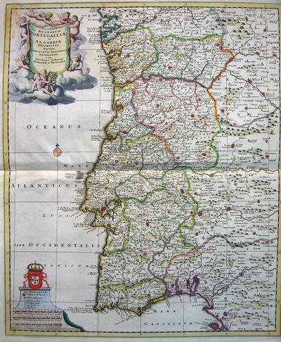 Novissima Regnorum Portugalliae et Algarbiae Descriptio