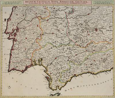 Regnum Castellae Novae, Andalusiae, Granadae et Algarbiae, nec non maxime partis Portugalliae...