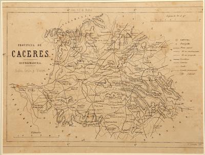 Provincia de Cáceres : Estremadura