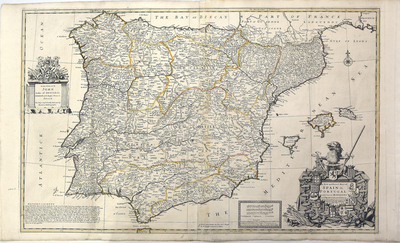A New and Exact Map of Spain & Portugal...