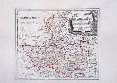 Der Landschaft Estremadura nordwestlicher Theil, oder die Distrikte Alcantara und Caceres