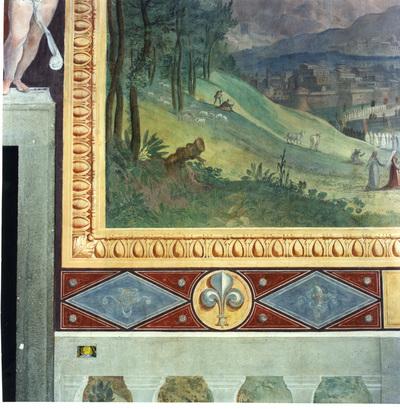 trasporto delle cose sacre da Tuscolo a Grottaferrata