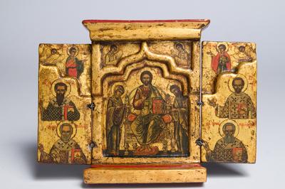 quattro evangelisti e Santi