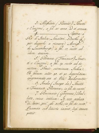 Raccolta di capitoli, sonetti e canzoni