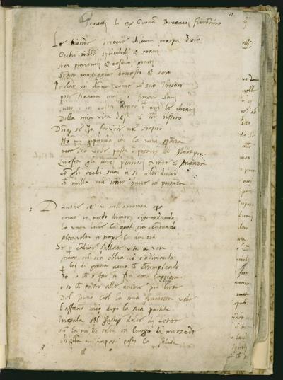 Poesie di poeti antichi toscani