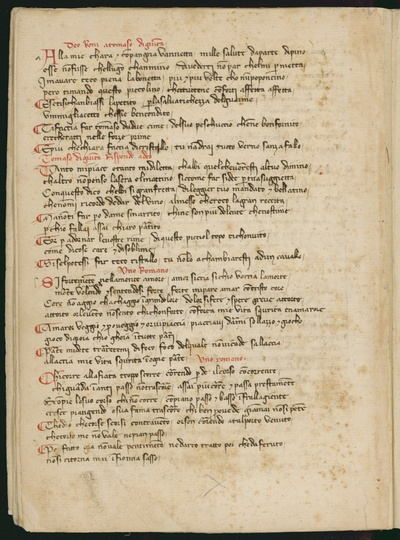 Poesie scritte nel sec. XIV