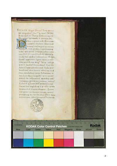 Marius Philelphus De vita et moribus Dantis