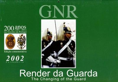 Calendário da Guarda Nacional Republicana [GNR] ano de 2002: [visual gráfico]