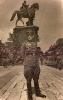 Фотография (портретная): на снимке — офицер 89-й гвардейской Белгородско-Харьковской стрелковой дивизии Кабанов