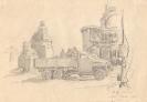 Фронтовой рисунок «Дошли до Вены»