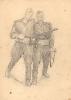 Рисунок «Боевые товарищи»