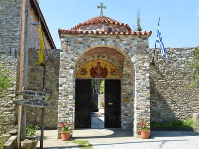 Monastery of Panagia Kalamou - Entrance (IMAGE)