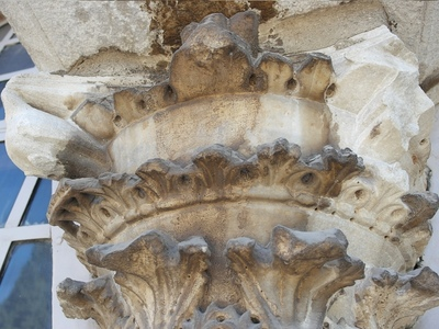 Church of the Holy Apostles - Column Capital #3 (IMAGE)