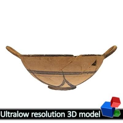 Κύλικα - Μουσείο Αβδήρων ΜΑ 4561 (3Δ)