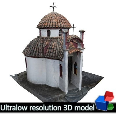 Monastery of Panagia Kalamou - Small chapel (3D)