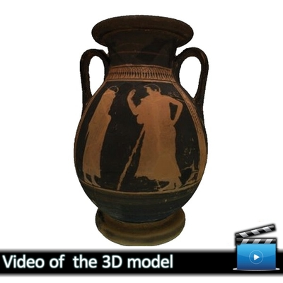 Ερυθρόμορφη πελίκη -  Μουσείο Αβδήρων ΜΑ 5983 (VIDEO)