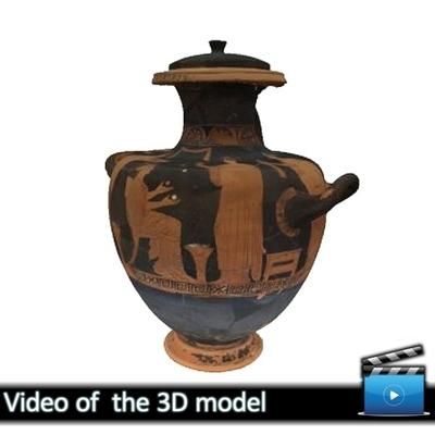 Ερυθρόμορφη υδρία - Μουσείο Αβδήρων ΜΑ 5982 (VIDEO)