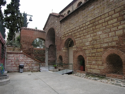 Church of Panagia Acheiropiitos -  St. Paraskevi chapel (Basilica's baptistery)  (IMAGE)