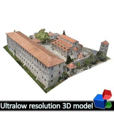 Monastery of Panagia Kalamou (3D)