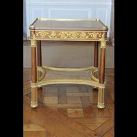Rendu 3D de la Table à ouvrage de la Chambre de la Reine