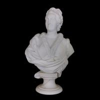 Rendu 3D du buste de Catherine II